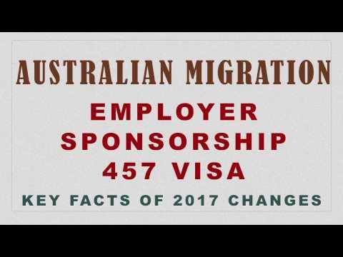 457 VISA CHANGES FOR MIGRATION TO AUSTRALIA