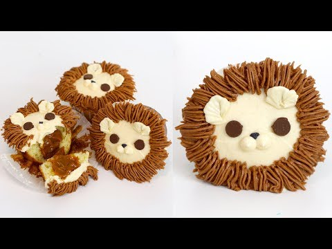 How to Make Lion Cupcakes | LEO ASTROLOGY SIGN | RECIPE