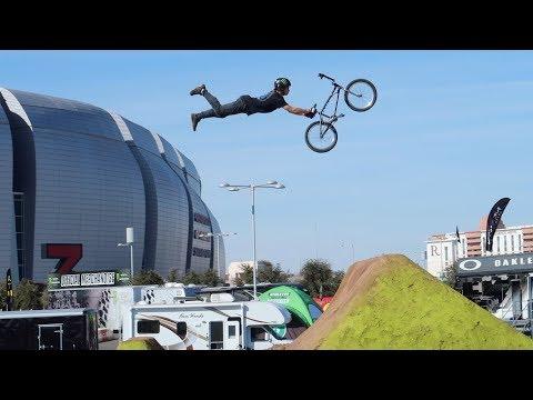 INSANE BMX DIRT JUMP COMPETITION!