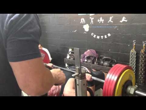 574 Raw Bench @ 220 - Adrian Larsen of EPC