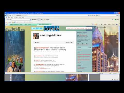 How To Make or Customize Your Twitter Background