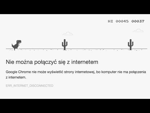 DINOZAUR Z GOOGLE CHROME GRA - Hunter