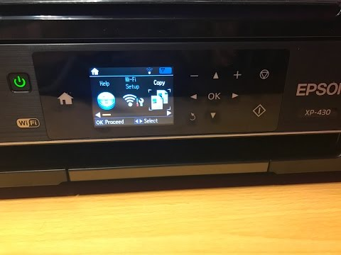 Review Unboxing Epson Wireless AirPrint Wi-Fi Direct Cloud Color Printer Copier Xp-430