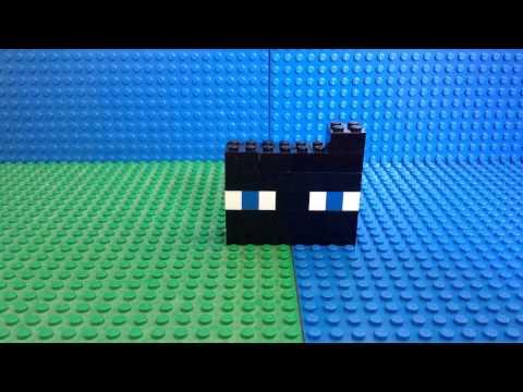 How to make a LEGO enderman head