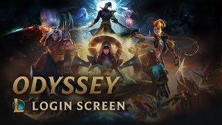 Odyssey   Login Screen - League of Legends
