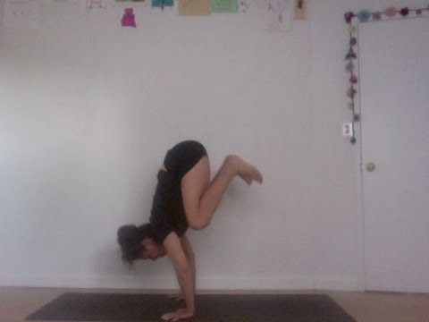 advanced yoga: how to press from crow to handstand - shana meyerson YOGAthletica :D