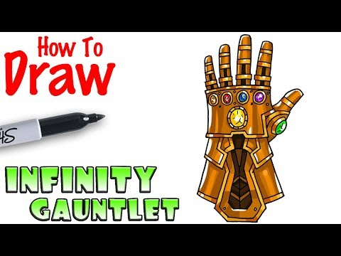 How to Draw the Infinity Gauntlet