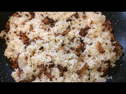 How i make Crispy Pork Adobo Flakes Sinangag || Crispy Pork Adobo Flakes Fried Rice