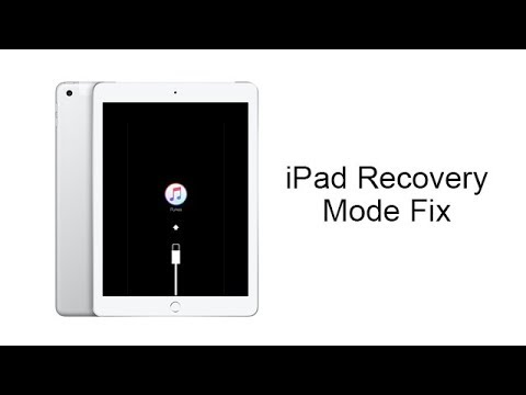 iPad Stuck in Recovery Mode and Won't Restore? New 2018  Solution.