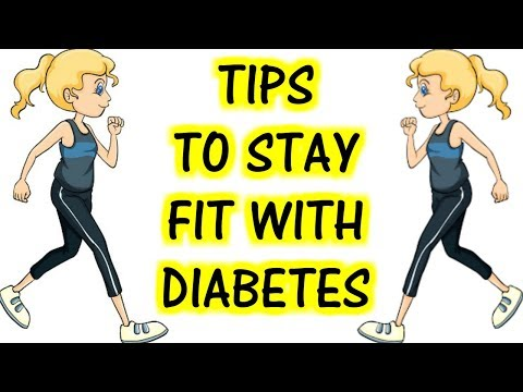 Tips to Stay Fit With Diabetes