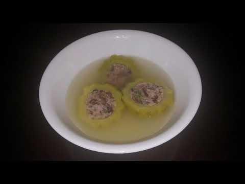 Stuffed Bitter Melon Soup