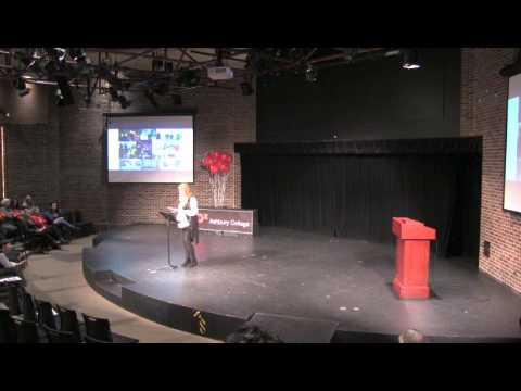 How Does Poetry Shape the Answers to our Question? | Kateri Lanthier | TEDxAshburyCollege