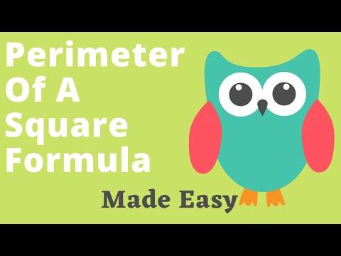 Perimeter Of A Square Formula Made Easy
