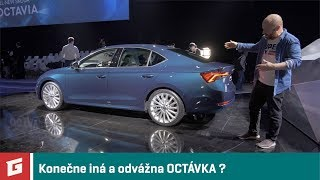 ŠKODA OCTAVIA 4 - 2020 - prvé dojmy - GARAZ.TV - Rasťo Chvála
