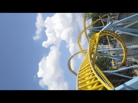 SkyRush Front Seat on-ride HD POV Hersheypark