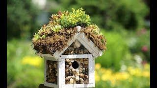 СКВОРЕЧНИКИ для птиц | ПТИЧЬИ ДОМИКИ невероятной красоты для украшения сада и дачи