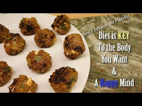 Bison BBQ Meatballs | Flexible Dieting