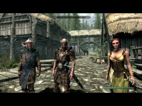 Skyrim how to start Hearthfire and build your own house