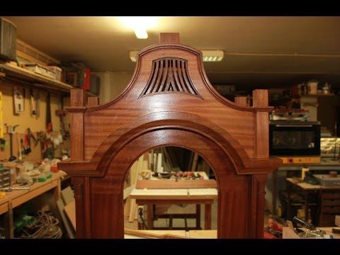 Grandfather Clock; How to make - Mahogany