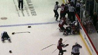 Gotta See It: Rinaldo sucker punches Girard, brawl ensues