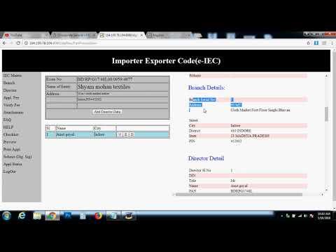 how to get IEC Import Export license in India Digital Signature issue latest june 2018