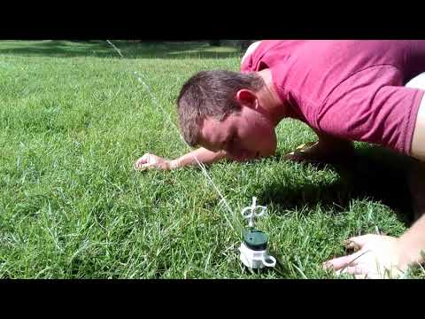 How to replace the nozzle in an orbit sprinkler head