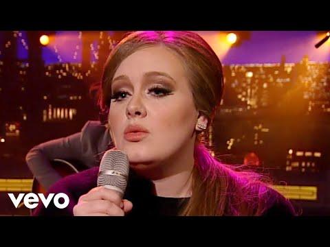 Adele - Lovesong (Live on Letterman)