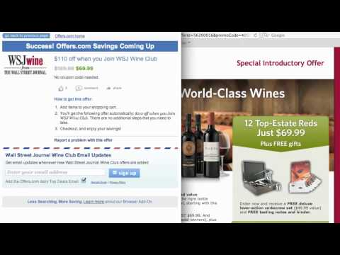 WSJ Wine Club Coupon Code 2013 - How to use Promo Codes and Coupons for wsjwine.com