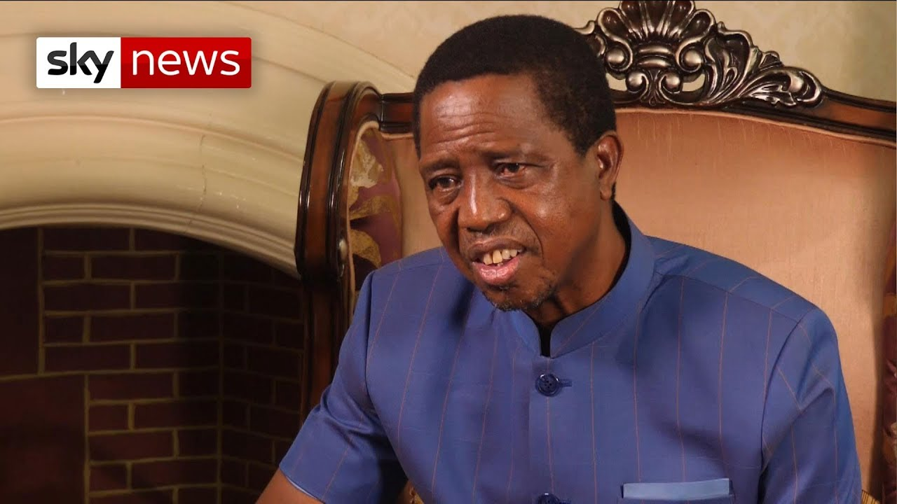 Zambia's president says 'no to homosexuality'