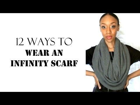 12 Ways to Wear an Infinity Scarf - SugarStilettos