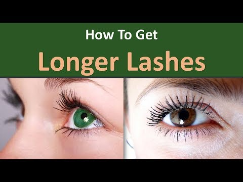 How to get Longer Lashes|Clean your eyelashes
