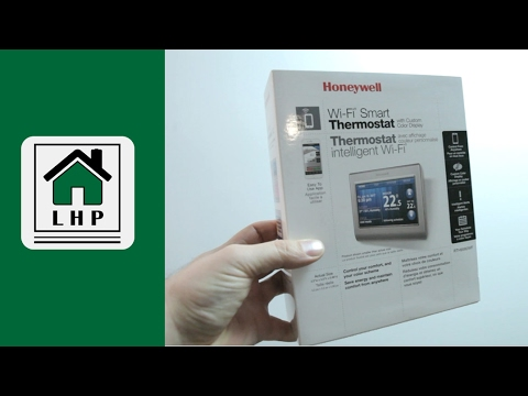 Honeywell Smart Thermostat Install - RTH9580WF- LHP