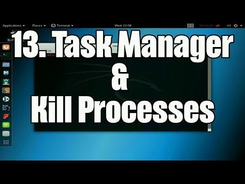 Learn About Computers & Linux: 13. Linux Terminal Task Manager & Kill Processes