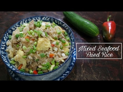 Mixed Seafood Fried Rice