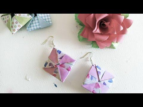Orecchini origami - Origami Earrings