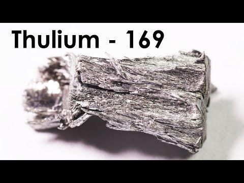 Thulium  - The RAREST AMONG THE RARE Earth Metals!