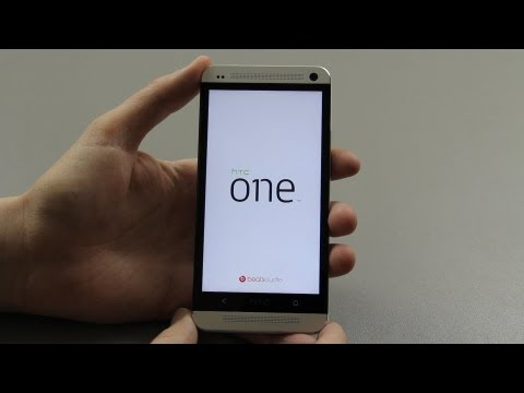 HTC One First Setup and Walkthrough