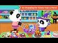 Baby Pandas Supermarket Kids Grocery Shopping BabyBus Game