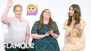 Amy Schumer, Aidy Bryant & Emily Ratajkowski Show Us the Last Thing On Their Phones   Glamour
