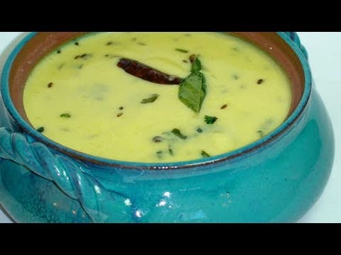 Gujarati Kadhi Recipe - Hot Yogurt Soup