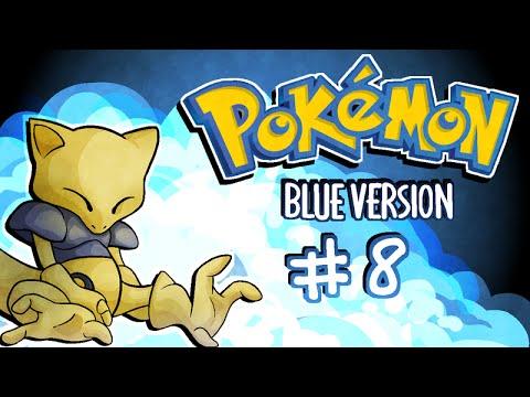 Pokemon Blue | Abra Solo Run [8] ~ Mew Glitch and Cerulean Gym Battles