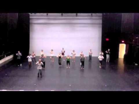 400 Level Modern Dance Class at Connecticut College