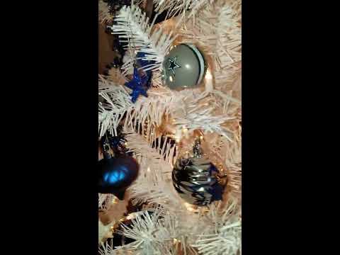 Dallas Cowboys Christmas Tree 2016