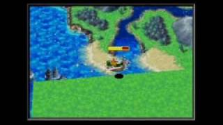 Golden Sun: Dark Dawn - World Map 2