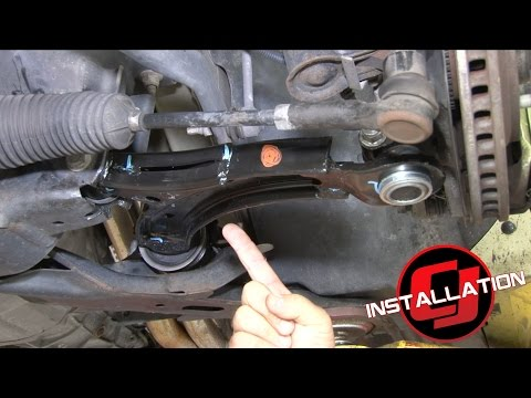 Mustang Ford Performance Front Lower Control Arm Upgrade Kit 2005-2010 Installation