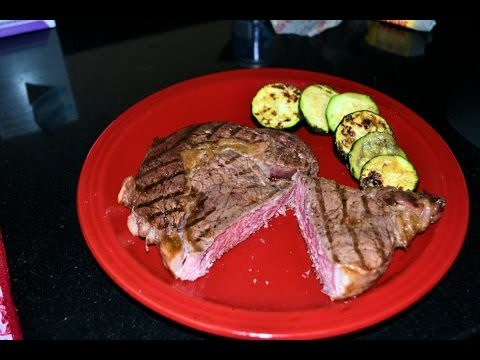 Perfect Ribeye Steak - How to Cook Medium Rare Steak on Weber Grill