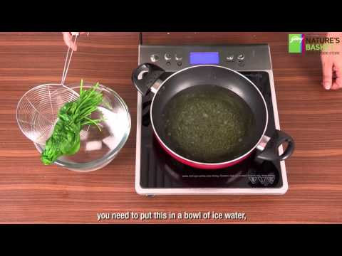 How To Blanch Spinach - The Healthy Way by Godrej Nature's Basket
