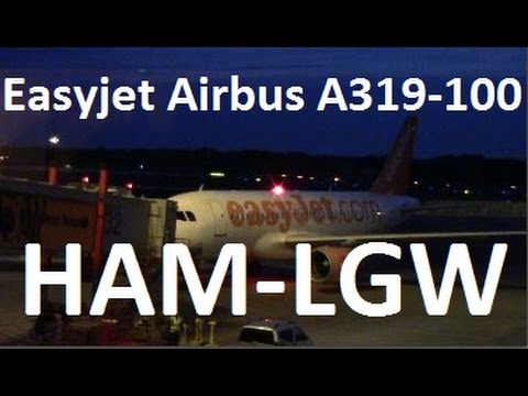 Easyjet Flight U25346 Hamburg-London Gatwick
