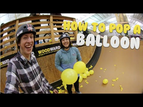 How to Pop a Balloon #BMXStyle