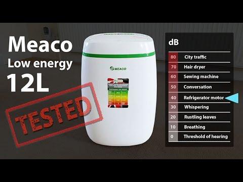 Meaco Low Energy 12L Review - Economical low power dehumidifier